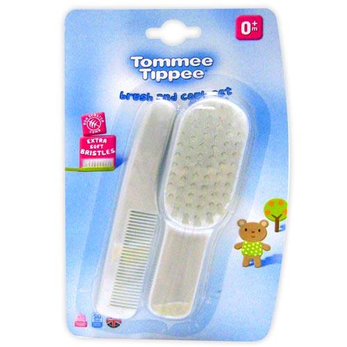 【奇買親子購物網】Tommee Tippee  幼兒頭梳組