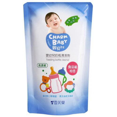 【奇買親子購物網】雪芙蘭親貝比 嬰幼兒奶瓶清潔劑補充包600ml