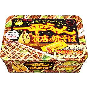 有樂町進口食品 日本 明星一平夜店 燒炒麵 濃郁的醬燒味 滑溜溜的美乃滋提味 J50 4902881048651 0