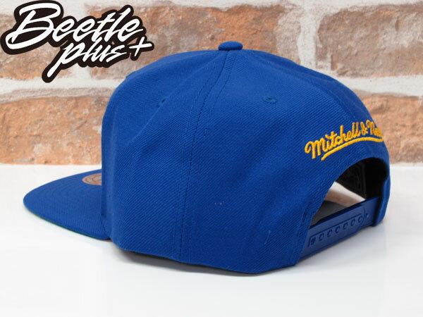 BEETLE NESS NBA WARRIORS 金州勇士 CURRY 藍黃 復古 SNAPBACK 棒球帽 總冠軍 MN-373 1