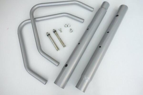 【擴充組】BCCN可無限組合可快速拆卸插入式自行車停車架 支車架展示架維修架置車架維修架修車架柱L型L形L行立車架