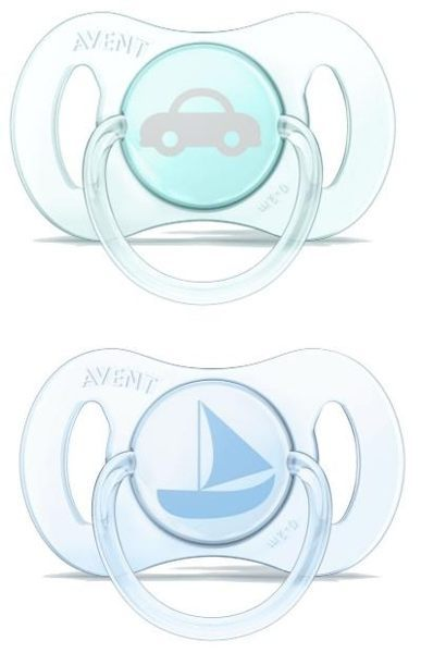 『121婦嬰用品館』AVENT 迷你安撫奶嘴2入(0-2M) - 藍綠 0