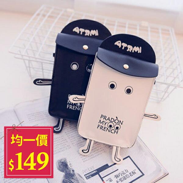 手機包-可愛卡通人偶造型時尚手機包【AN SHOP】