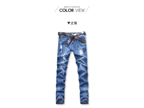 ☆BOY-2☆【NC3844】鬼洗破壞潮流刀割牛仔褲 1