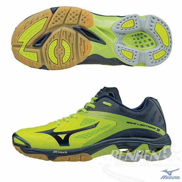 MIZUNO 美津濃 WAVE LIGHTNING Z2 排球鞋(螢光黃*黑)美國代表隊用鞋