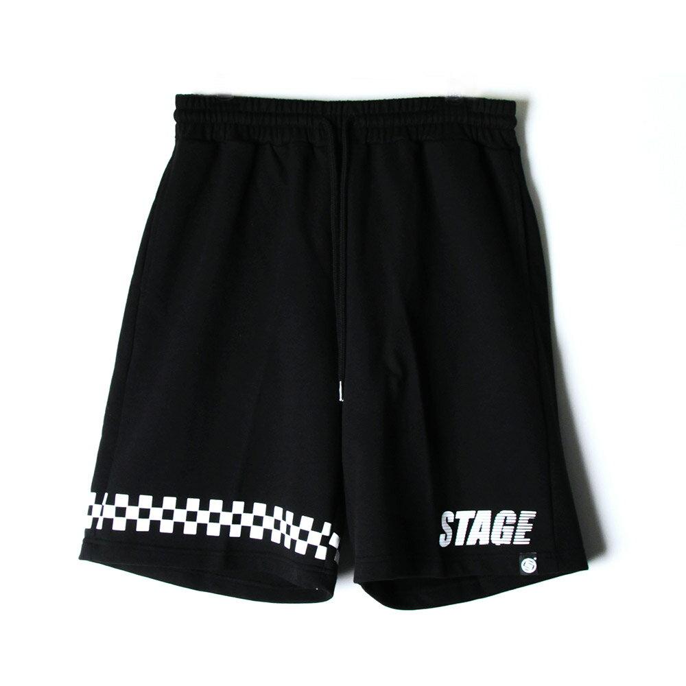 STAGE BREAKER BAGGY SHORTS 黑色/白色 兩色 3