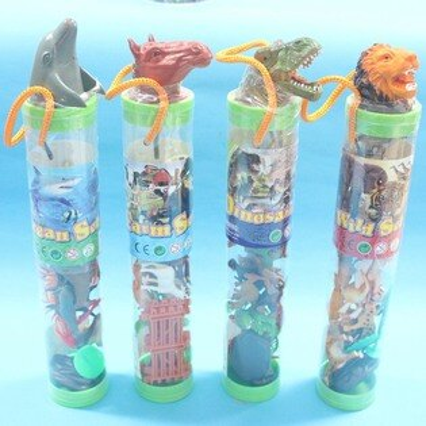 海洋動物模型桶 仿真海洋動物 仿真海洋動物模型(21入混款)/一桶入{促120}