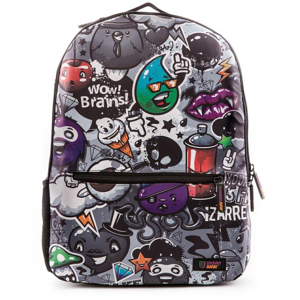 Urban Junk Dark Life Classic Plus School Bag 0