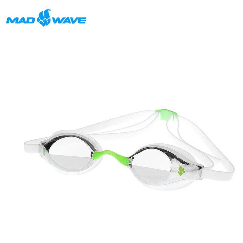 俄羅斯MADWAVE成人泳鏡RECORD BREAKER MIRROR - 限時優惠好康折扣