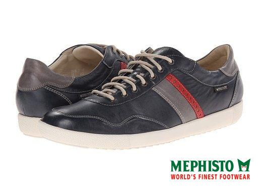 Mephisto 法國工藝皮革休閒鞋 墨綠 0