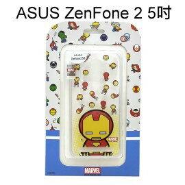 復仇者聯盟Q版透明軟殼 [鋼鐵人] ASUS ZenFone 2 ZE500CL Z00D (5吋)【正版授權】