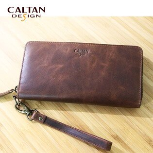 牛皮夾/長夾-CALTAN-多卡手拿大容量長夾-2467ka-capello