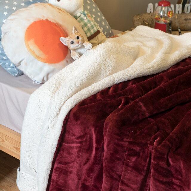 經典素色羊羔絨毯 綜合賣場  150cmX200cm (正負5cm) 6