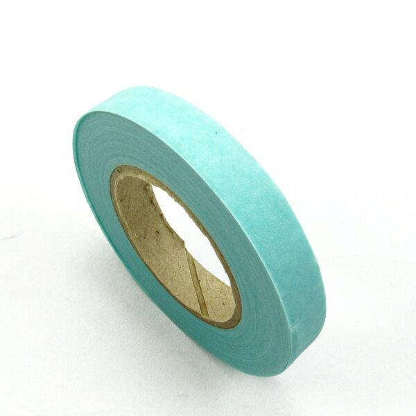【60007】紙膠帶.台製-02水藍色 (30碼 / 寬1.2cm)