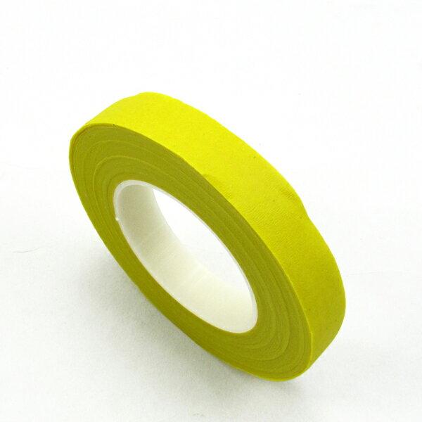 【60015】紙膠帶.台製-16黃色 (30碼 / 寬1.2cm)