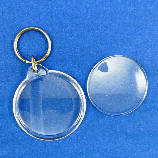 【60067】壓克力鑰匙圈-圓型