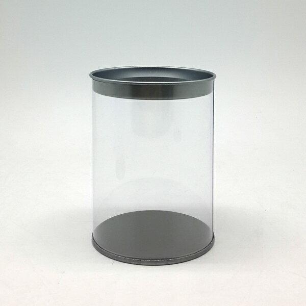 【60300】春仔花全透明圓桶精緻罐-短