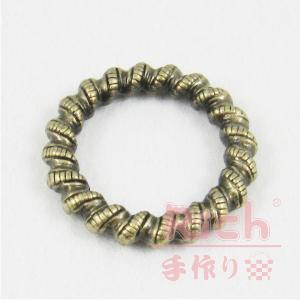 【原價20元,特價15元】裝飾扣B11-圓形雕花環