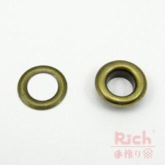【原價6元,特價5元】裝飾扣B25(古銅)-15mm雞眼