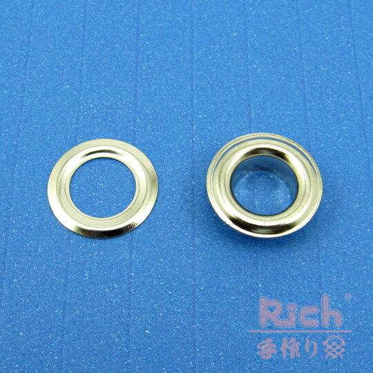 【原價6元,特價5元】裝飾扣B25(銀)-15mm雞眼