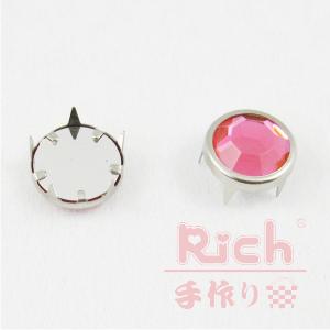 【原價10元,特價7元】裝飾扣B8-15mm鑽扣