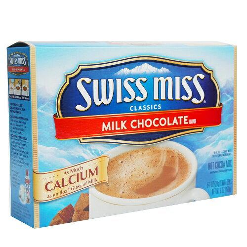 美國進口 SWISS MISS 瑞士妹巧克力粉-牛奶巧克力124g