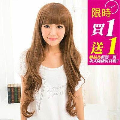 《買一送一》☆雙兒網☆HOT!材質再升級新耐熱假髮【MA100】長谷川潤日系甜心長捲髮 0