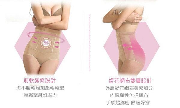 【依夢】舒適560丹纖腹美尻 輕感塑身束褲(買一送一)(2件組) 5
