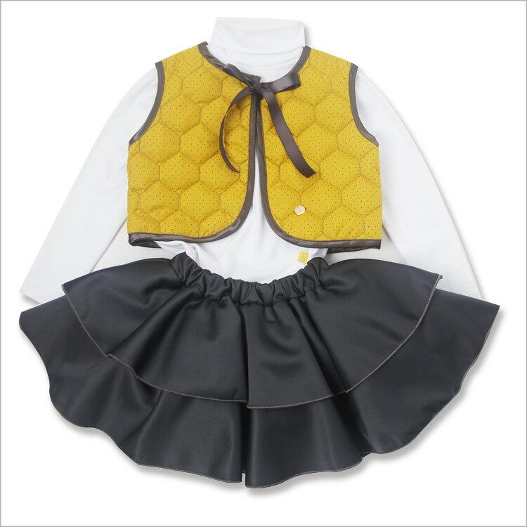 Chua 純棉白色高領衫( 3-7歲) 1