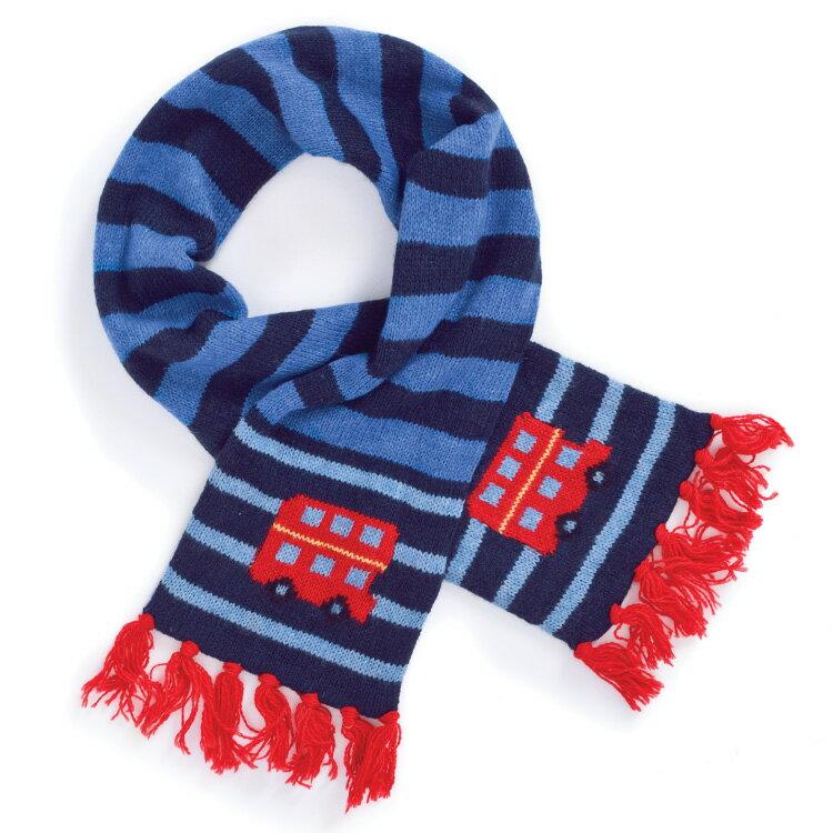 Jojomamanbebe  倫敦巴士 圍巾 (2-6Y) - 限時優惠好康折扣