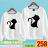 ◆快速出貨◆限定特賣會 原領刷毛T恤 情侶T恤 暖暖刷毛 MIT台灣製.翹尾巴黑白貓【YS0461】可單買.艾咪E舖 0