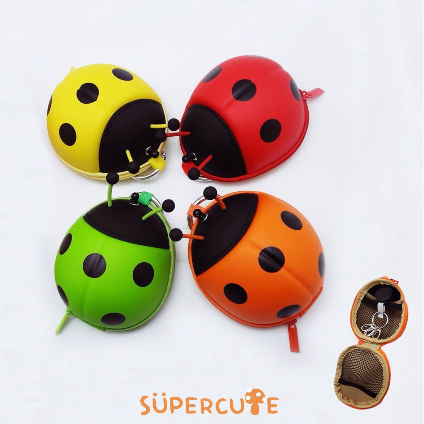 Supercute 飄蟲收納卡包^(四色^)
