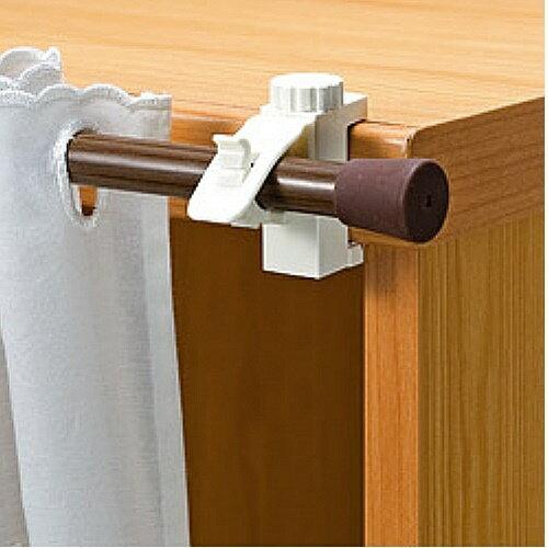 日本 LEC(扣鎖式) 窗簾桿專用掛勾