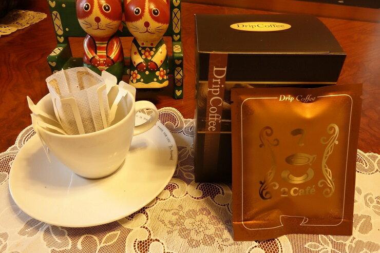 【二咖啡手感烘培館】晨曦舞山嵐_招牌綜合 耳掛式咖啡 一包十杯份 0