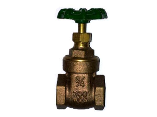 銅製凡爾六分雙內牙(3/4吋水管開關接頭)