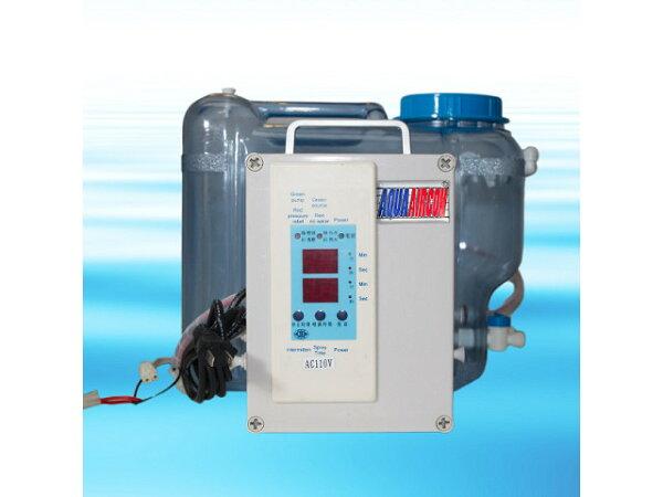 ★灑水達人★A108 微電腦噴霧機(8顆噴頭含桶子)噴霧機(攜帶型)造霧機,噴霧器,室外冷氣機全世界最小
