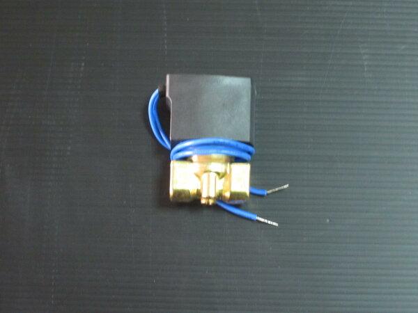 單顆三分銅製電磁閥110V~220V(當進水與噴頭與洩壓閥)