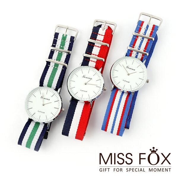 【超殺5折】手錶 愜意假期 度假風手錶 JJ9034