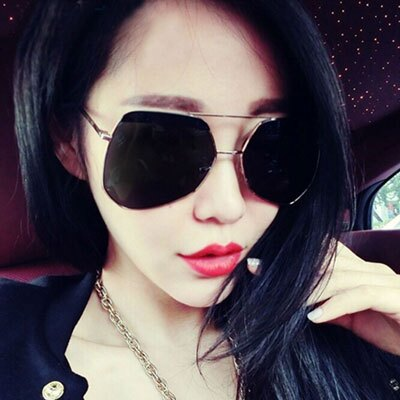 墨鏡 時尚明星同款多邊大框復古太陽眼鏡【O2915】☆雙兒網☆ 2