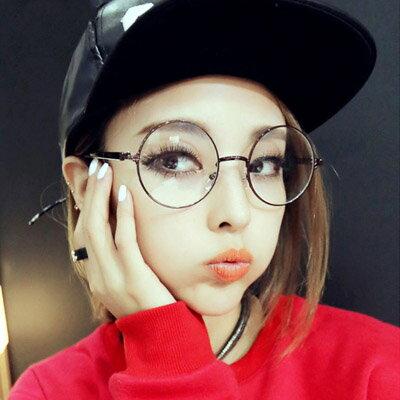 眼鏡 韓版復古文青哈利波特金屬圓框眼鏡【O2920】☆雙兒網☆