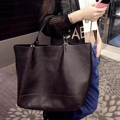 手提包 時尚明星簡約百搭子母包側背包【O2956】☆雙兒網☆ 3