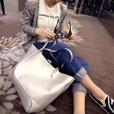 手提包 時尚明星簡約百搭子母包側背包【O2956】☆雙兒網☆ 4