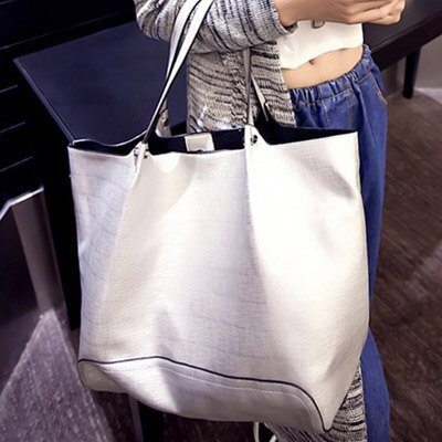 手提包 時尚明星簡約百搭子母包側背包【O2956】☆雙兒網☆ 1