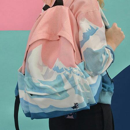 後背包 歐美風景刺繡造型文藝風背包【O3032】☆雙兒網☆ 1