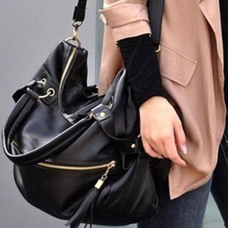 肩背包 歐美個性流蘇造型大容量手提包【O3051】☆雙兒網☆ 0