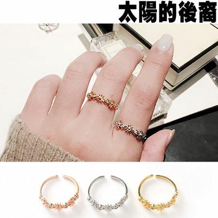 戒指 韓劇同款耀眼雛菊造型戒指【O3066】☆雙兒網☆ 0