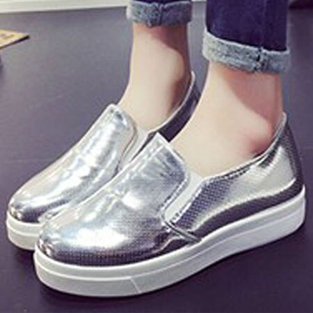 懶人鞋 閃亮金屬感透氣洞洞休閒鞋【S1556】☆雙兒網☆ 2
