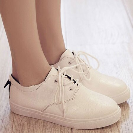 休閒鞋 韓版流行格紋皮革休閒鞋【S1559】☆雙兒網☆ 3