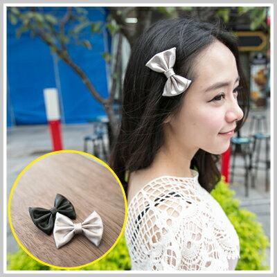 ☆雙兒網☆ twinkle twins 【o1120】H&M款時尚可愛皮質蝴蝶結髮夾邊夾 - 限時優惠好康折扣