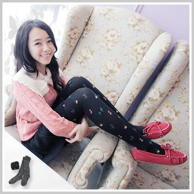 ☆雙兒網☆ Kitty girl 【o1146】韓國可愛刺繡小紅帽與大野狼造型褲襪 0